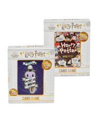 Harry Potter 'Who' Card Games