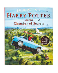 Chamber Of Secrets Illustrated Book