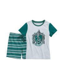 Green Slytherin Kids' Pyjamas