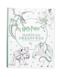 Harry Potter Creature Colouring Book