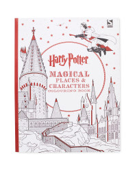 Harry Potter Place Colouring Book