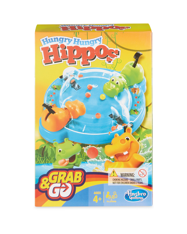 Hasbro Hungry Hippo Grab & Go Game