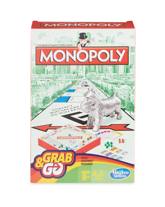Hasbro Monopoly Grab & Go Game
