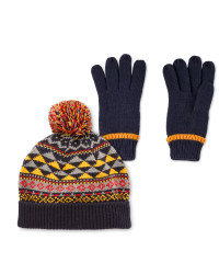 Lily & Dan Hat & Gloves 7-10