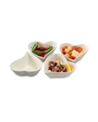Heart Tapas Bowls - 4 Pack