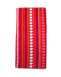 Hearts Beach Towel