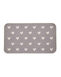 Hearts Washable Door Mat