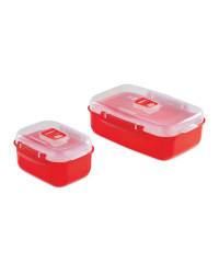 Heat And Eat 2 Pack - Red
