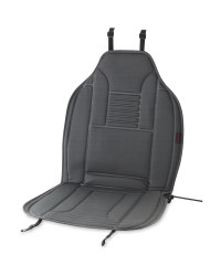 Auto XS Grey Heatable Car Seat Pads