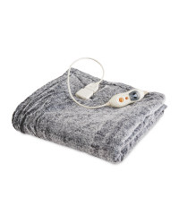 Heated Throw - Dark Grey