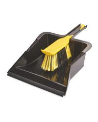 Heavy Duty Dustpan & Brush