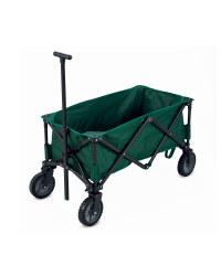 Heavy-Duty Folding Trolley in Green