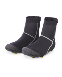 Cycling Pro Heavy Duty Overshoes - Black