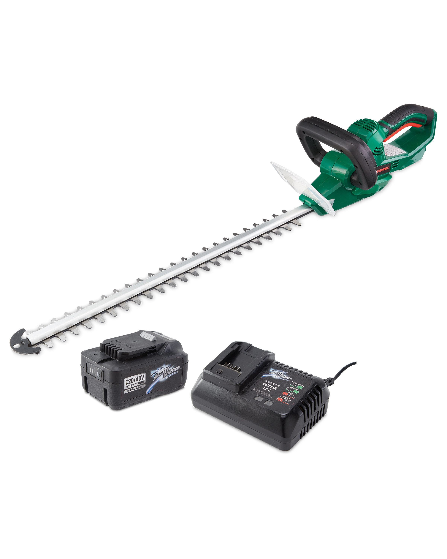 Hedge Trimmer, 40V Battery & Charger