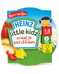 Heinz Sweet & Sour Chicken Tray Meal