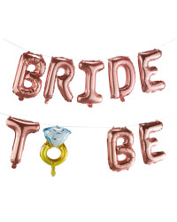 Bride-To-Be Foil Party Balloons