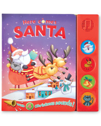 Here Comes Santa Sound Board Book