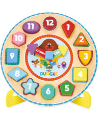 Hey Duggee Puzzle Clock