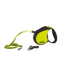 Hi-Vis Flexi Dog Lead