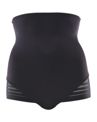Avenue High Waist Shapewear Briefs - Black