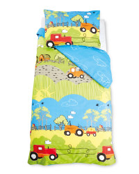 Hilltop Farm Cot Duvet Cover Set