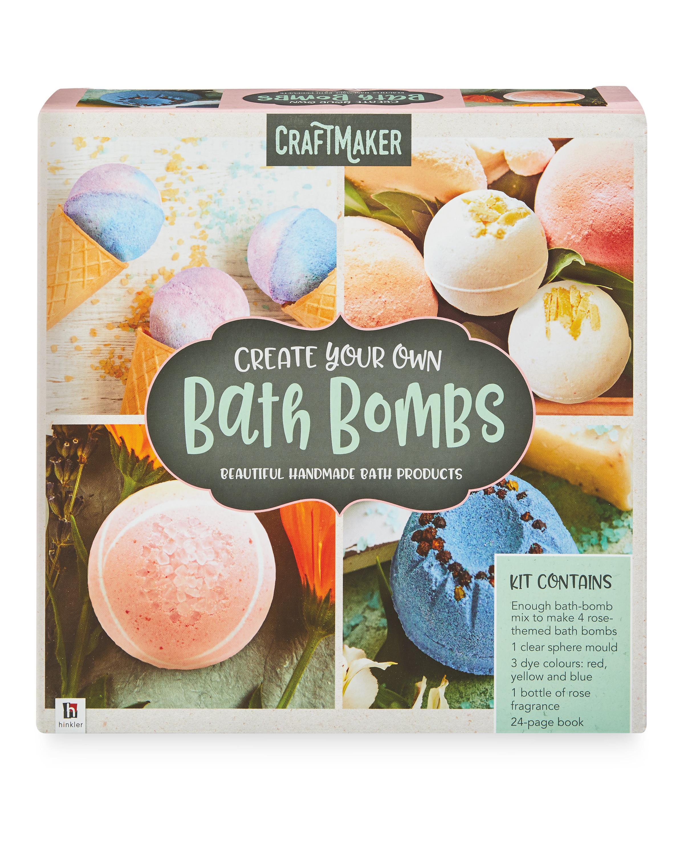 Hinkler Bath Bombs Craft Kit