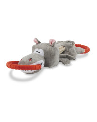 Hippo Deluxe Dog Tug Toy
