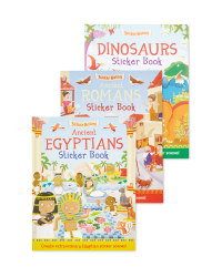 History Sticker Book 3 Pack