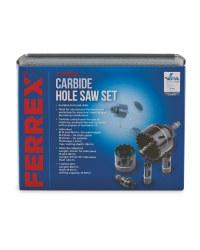 Hole Saw Set Carbide