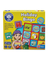 Holiday Bingo Travel Game