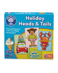 Holiday Heads & Tails Travel Game