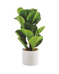 Fiddle Leaf Artificial Plant