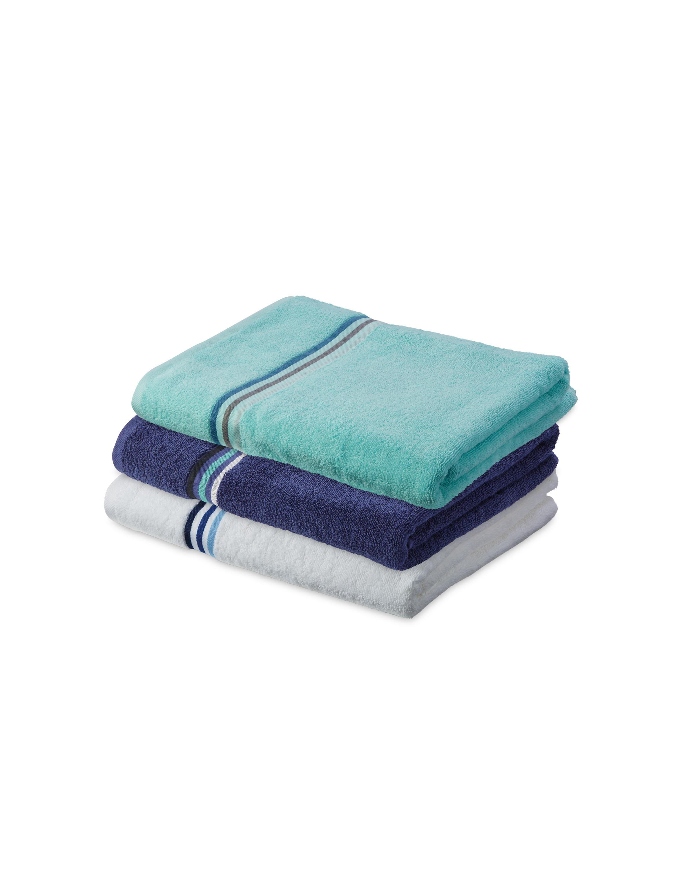 Home Creation Stripe Bath Sheet