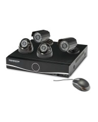 Home Protector 4 Camera HD CCTV Kit