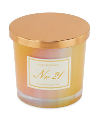 Honey & Nectarine Scented Candle
