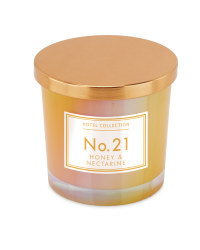 Honey & Nectarine Iridescent Candle