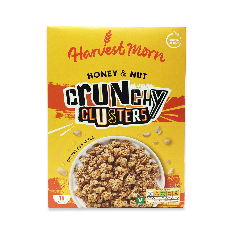 Crunchy Clusters Honey Nut