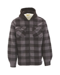 Hooded Sherpa Lined Jacket
