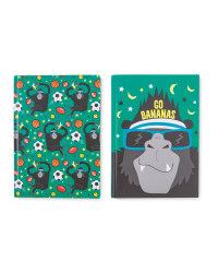 Hoopla A5 Gorilla Notebook 2-Pack