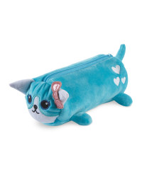 Hoopla Fluffy Cat Pencil Case