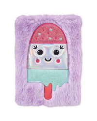 Hoopla Fluffy Ice Lolly A5 Notebook