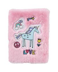 Hoopla Fluffy Unicorn A5 Notebook