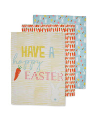 Hoppy Easter Tea Towels 3 Pack