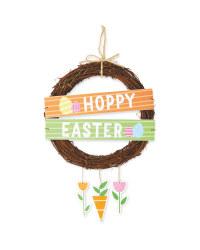 Hoppy Easter Wreath