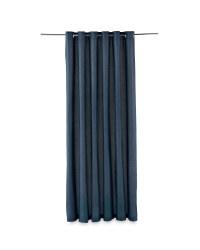 "Hopsack Curtains 90 x90"" - Blue"