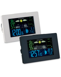 Horizontal LCD Weather Station