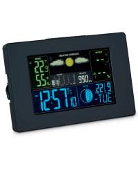 Horizontal LCD Weather Station - Black