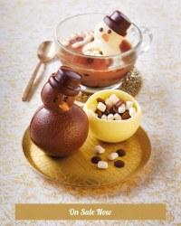 Hot Chocolate Melting Snowman