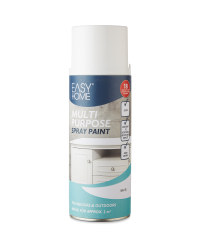 Easy Home Glossy Spray Paint - White