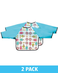 Ice Lolly Feeding Bibs 2 Pack